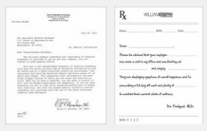 doctor excuse note templates for work or school